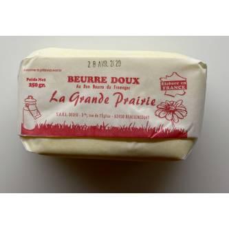 beurre doux 250 gr